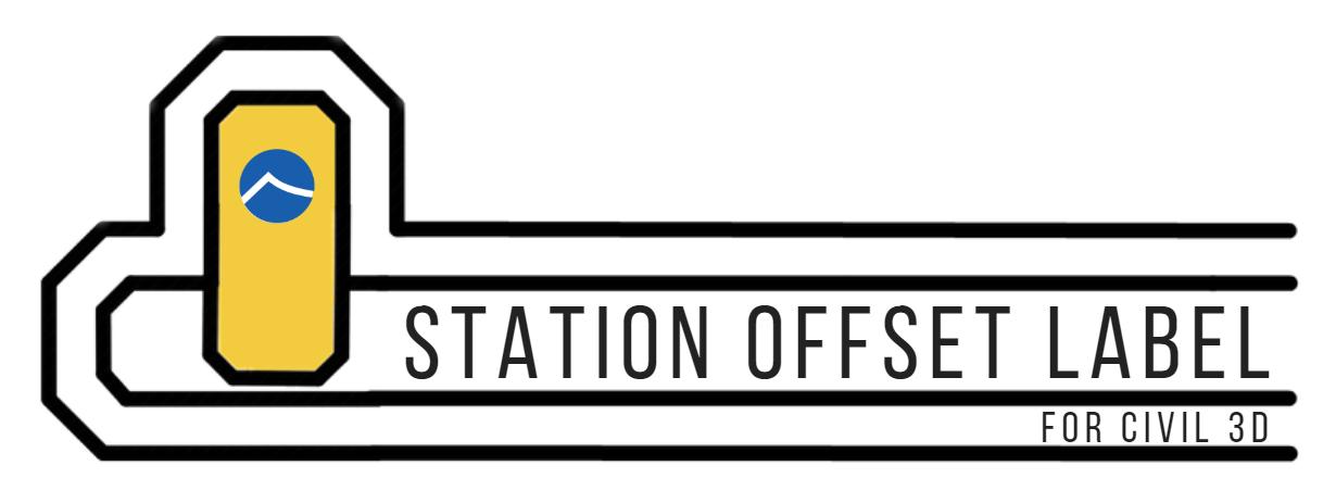 Station Offset Label
