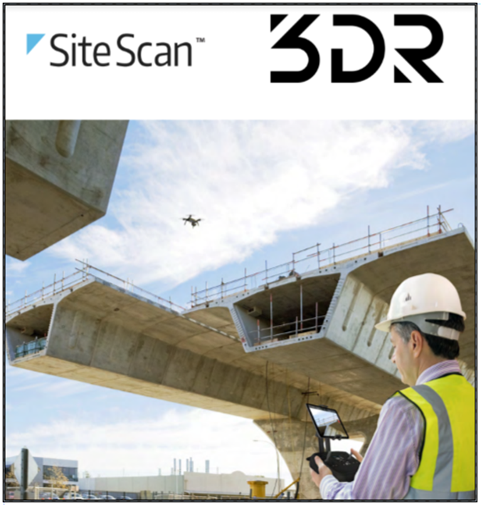 3DR SiteScan badge